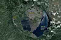 gunung api batur bali